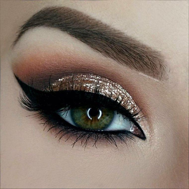 maquillaje ojos para salir y para eventos importantes. Black Bedroom Furniture Sets. Home Design Ideas