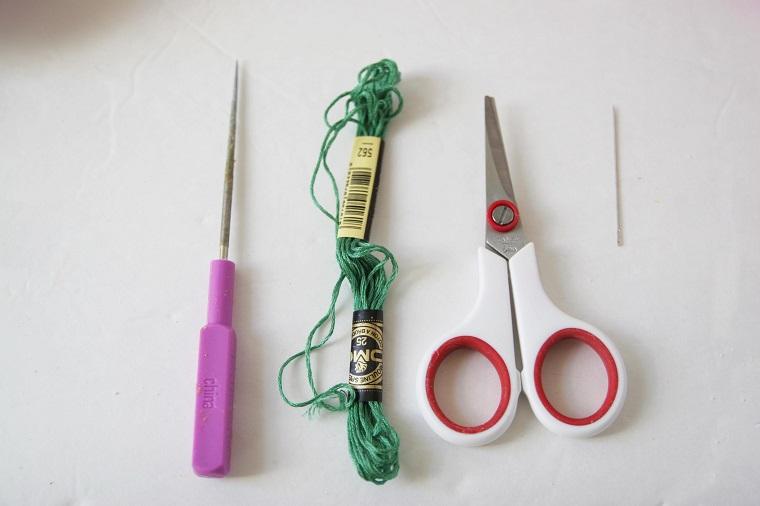 materiales necesarios manualidad