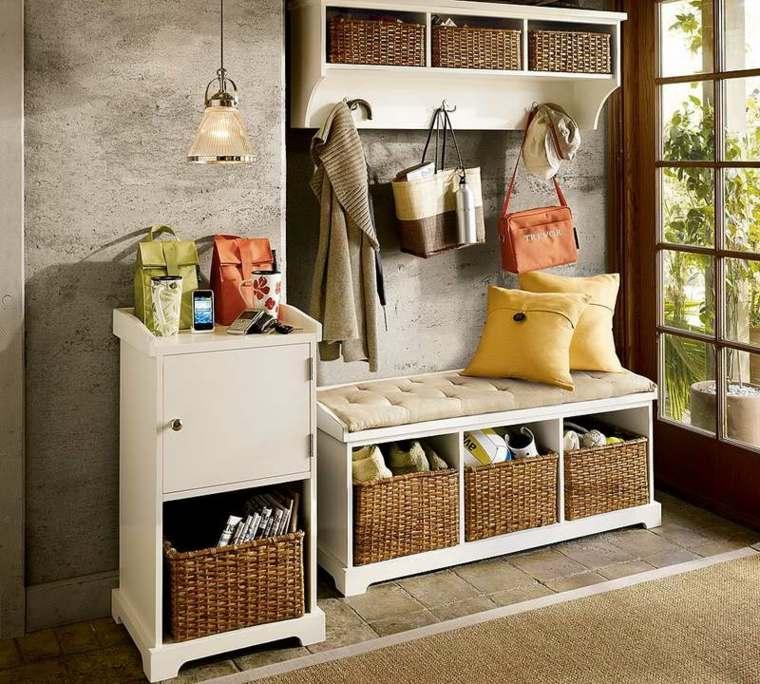muebles de recibidor baratos decorar