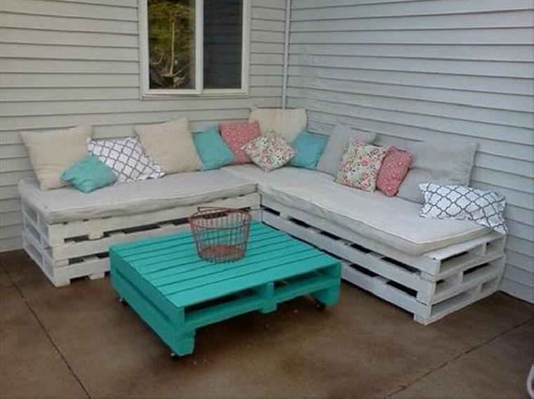 banco terraza mesa celeste