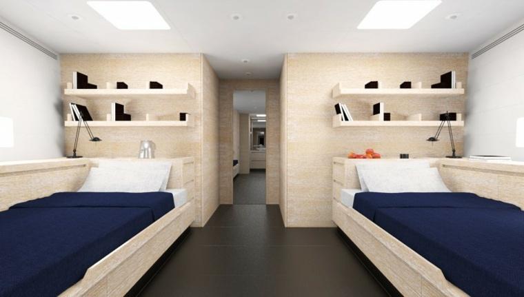 nautico ambiente fresco colorido camas