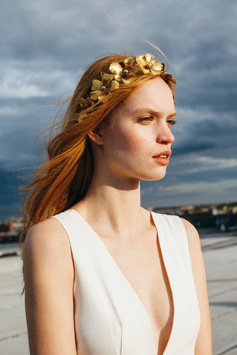 novia jennifer behr tiara diseno moderno ideas