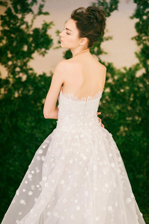 novias vestido peinado Carolina Herrera ideas