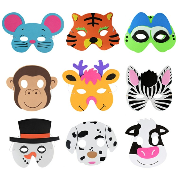 máscaras animals selva originales