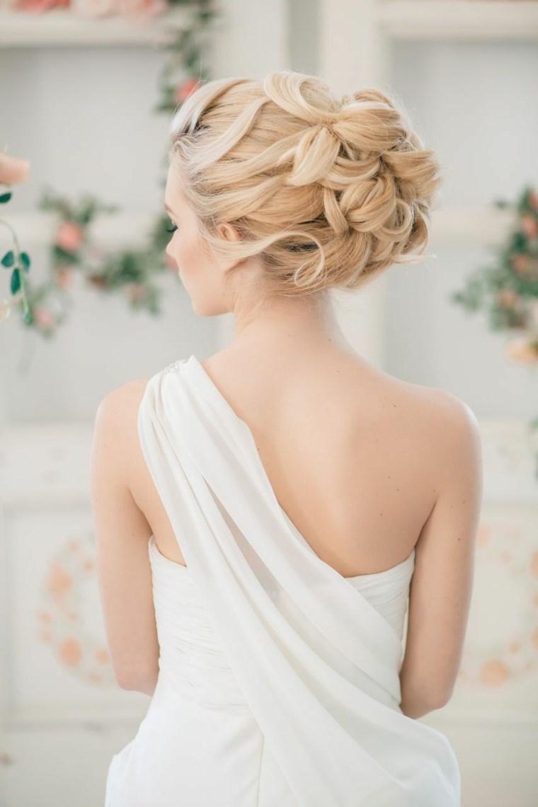 opciones recoger pelo dia boda bonitas novias ideas