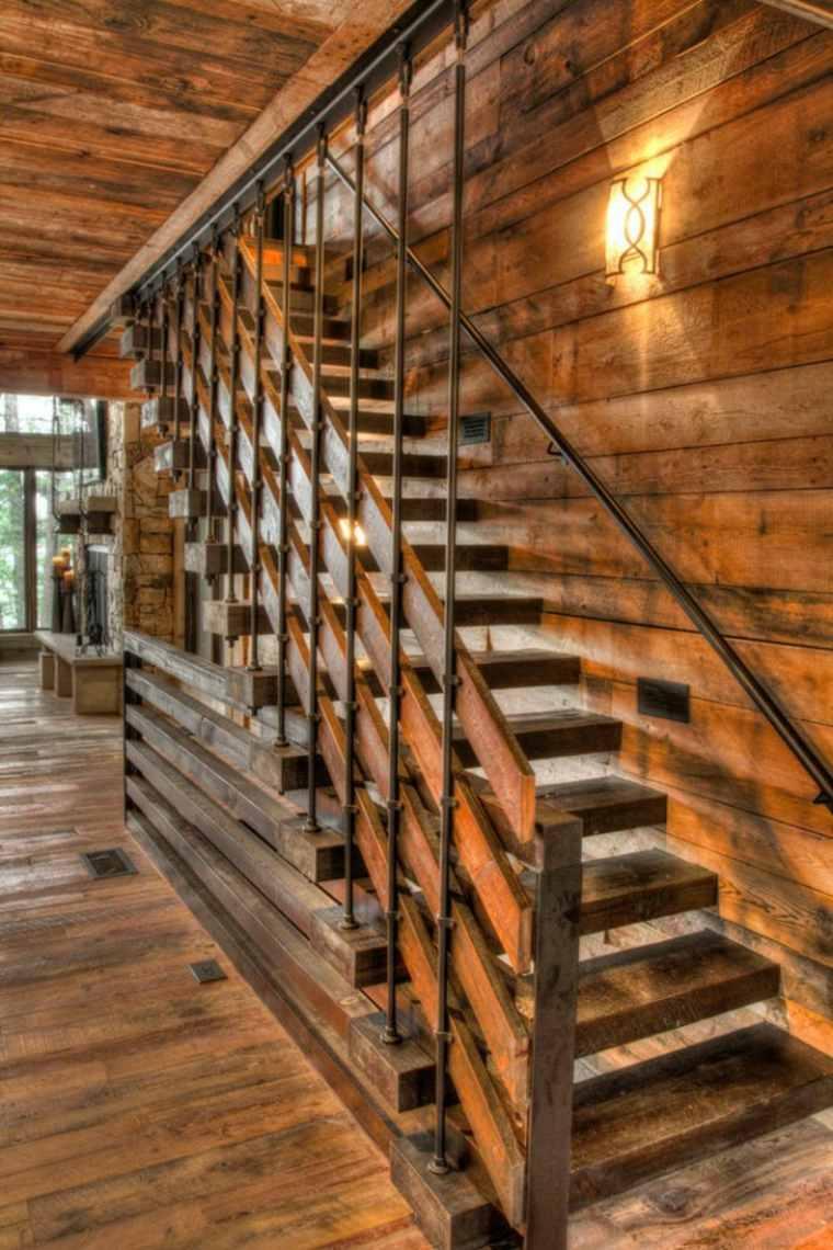 originales escaleras rústicas modenas