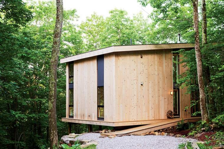 Caba as de madera la escapada con la que siempre hab as - Cabanas modernas ...