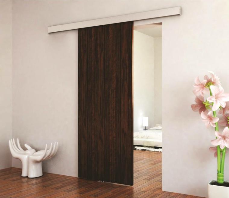 puerta corredera moderna
