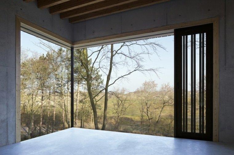 interior moderno ventana