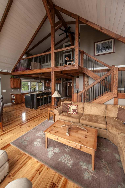 original interior moderno escalera madera