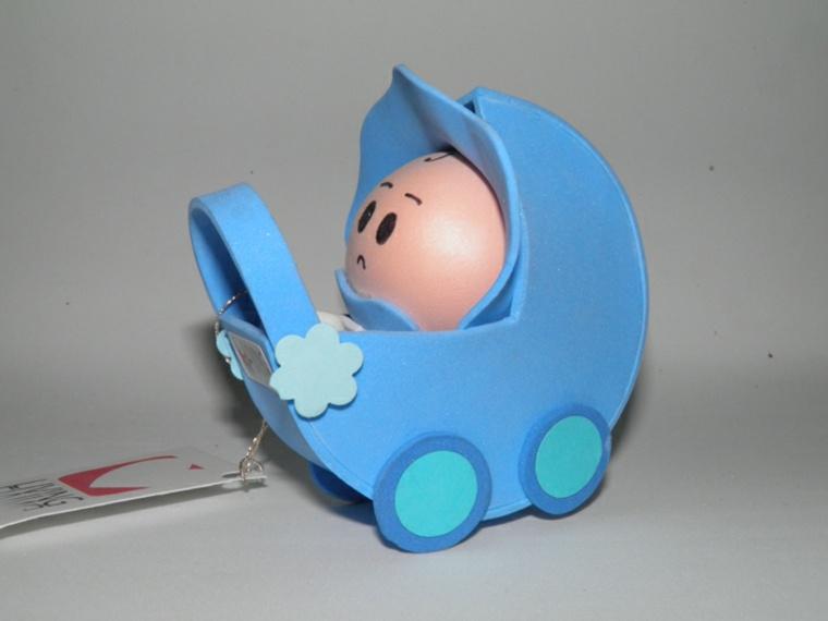 original bebé carrito azul