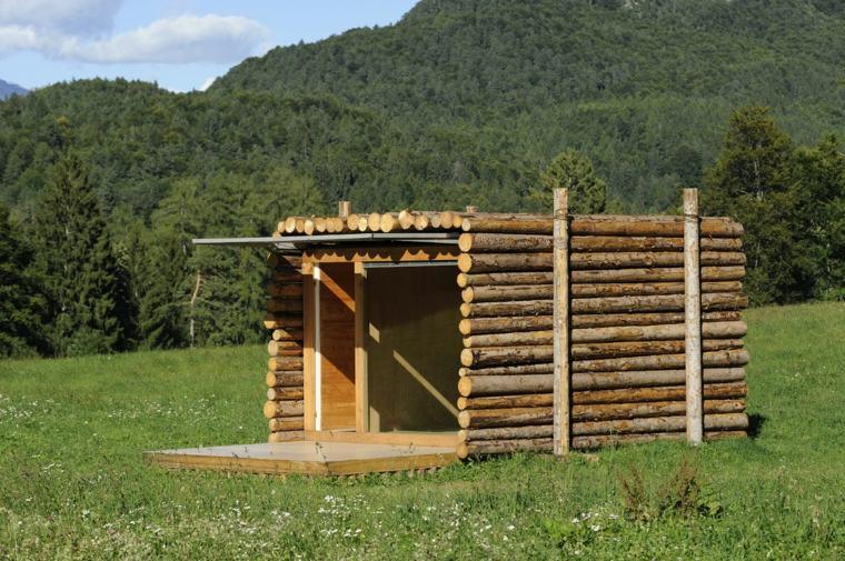 diseño cabaña pequeña