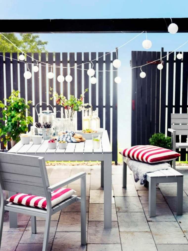 original decoración terraza balcno