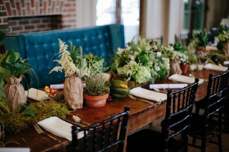 originales centros de mesa