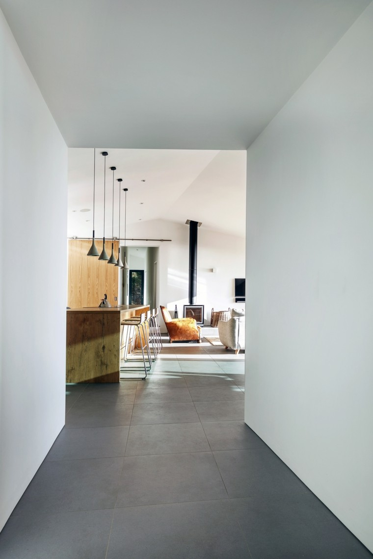 pasillo cocina diseño