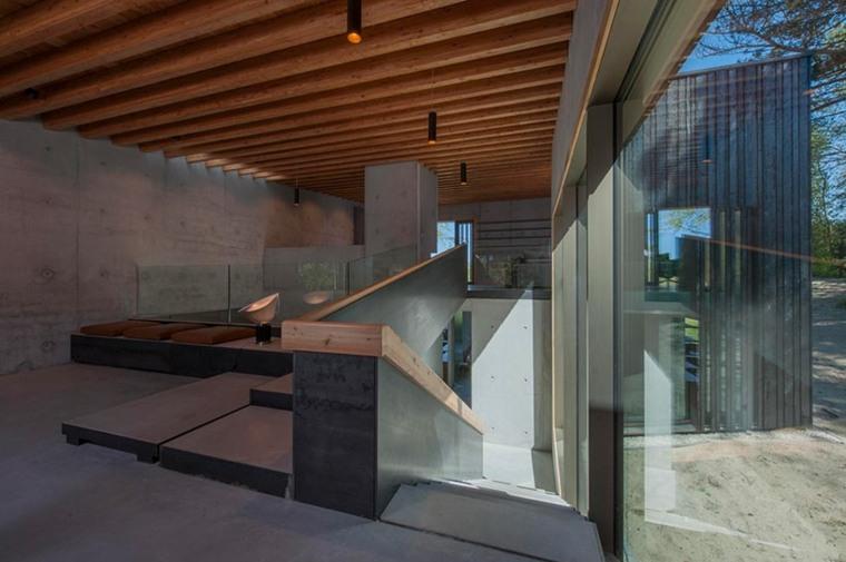 interior moderno hormigón