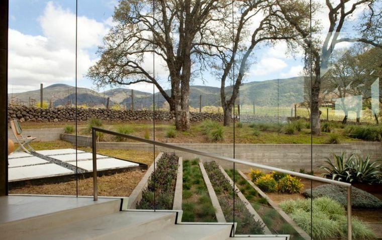 original diseño jardin terrazas xeirscape