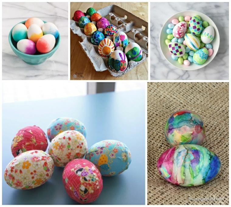 ideas decorar huevos