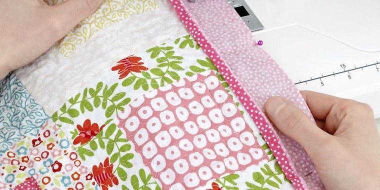 bonitas telas patchwork