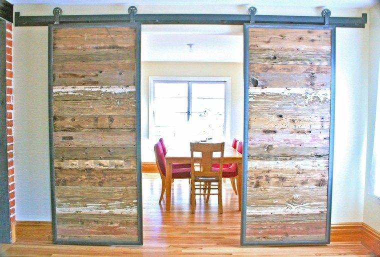 puertas madera recuperada