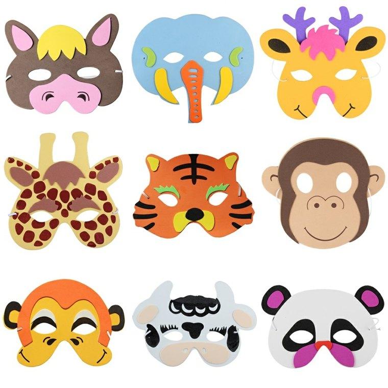 originales ideas mascaras animales
