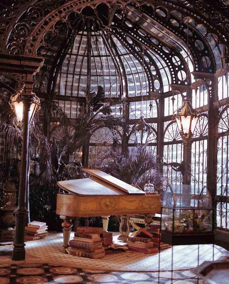 diseño interior steampunk