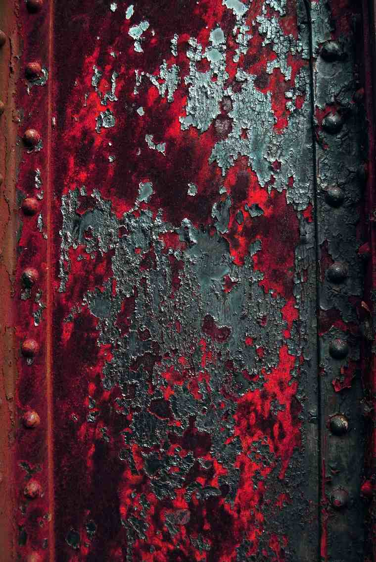 pintura paredes desgastada