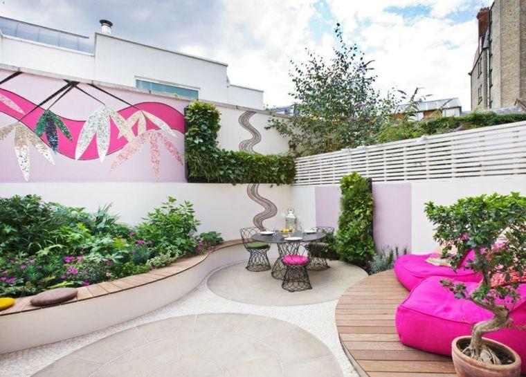Patio diseño especial para fiestas y relajarse al aire libre