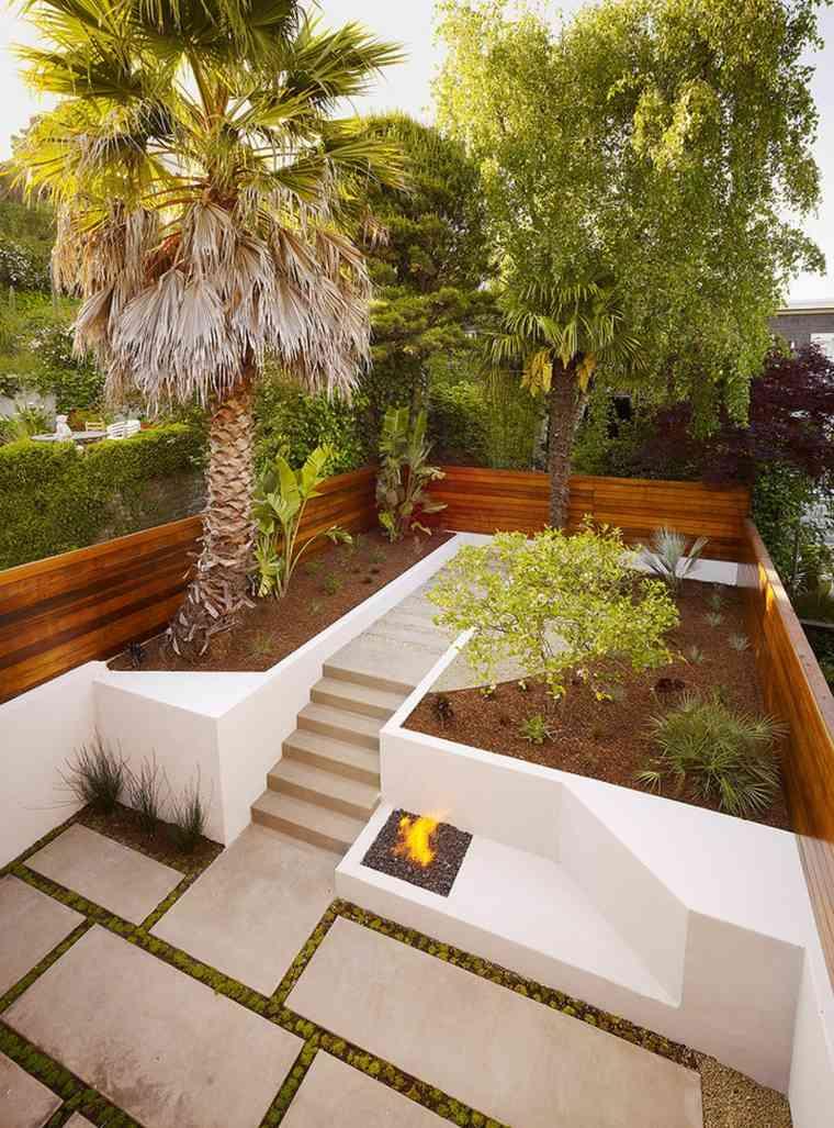 patio moderno varias terrazas