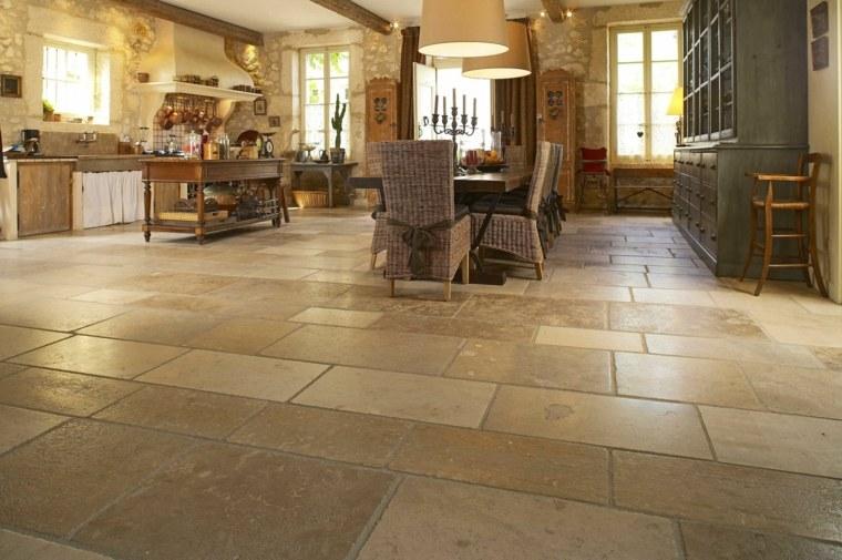 Suelos r sticos interior para decorar vuestras casas - Pavimentos rusticos para interiores ...