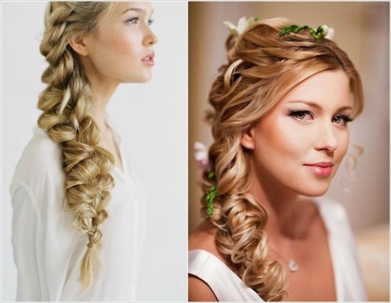 peinado trenza bodas