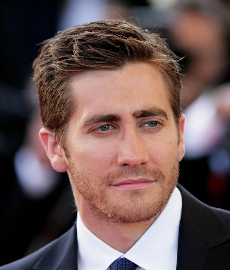 Jake Gyllenhaal con pelo corto