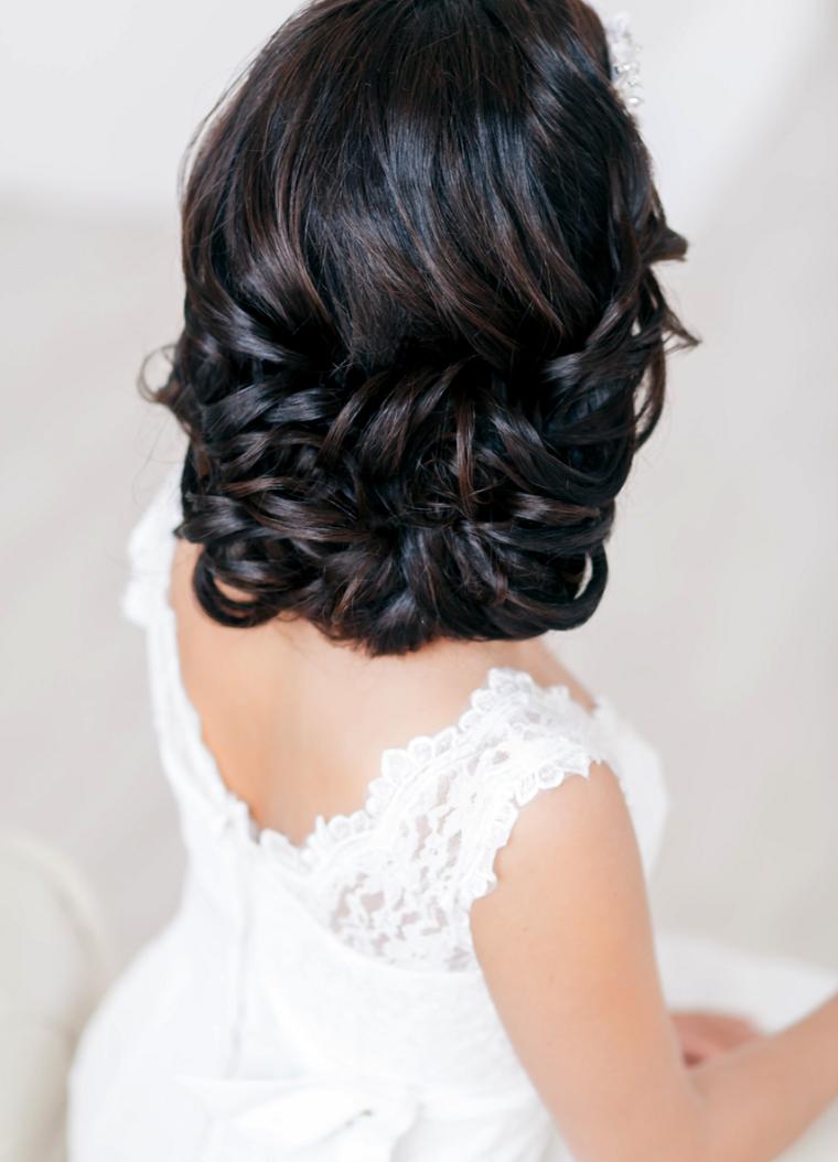 peinados boda elegante simple bello ideas