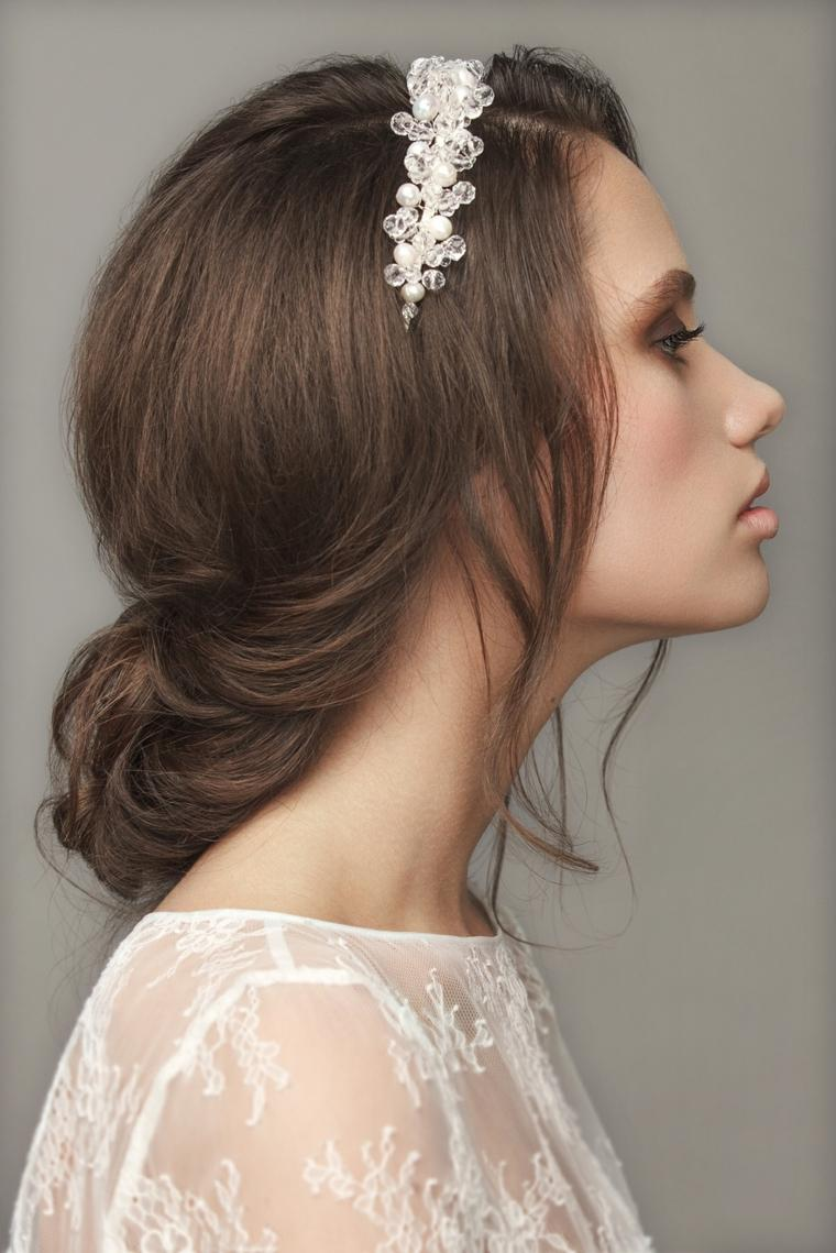peinados boda elegante simple romantico ideas