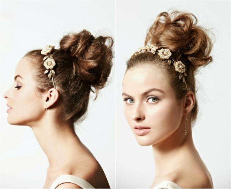 peinados boda facil elegante revuelto ideas