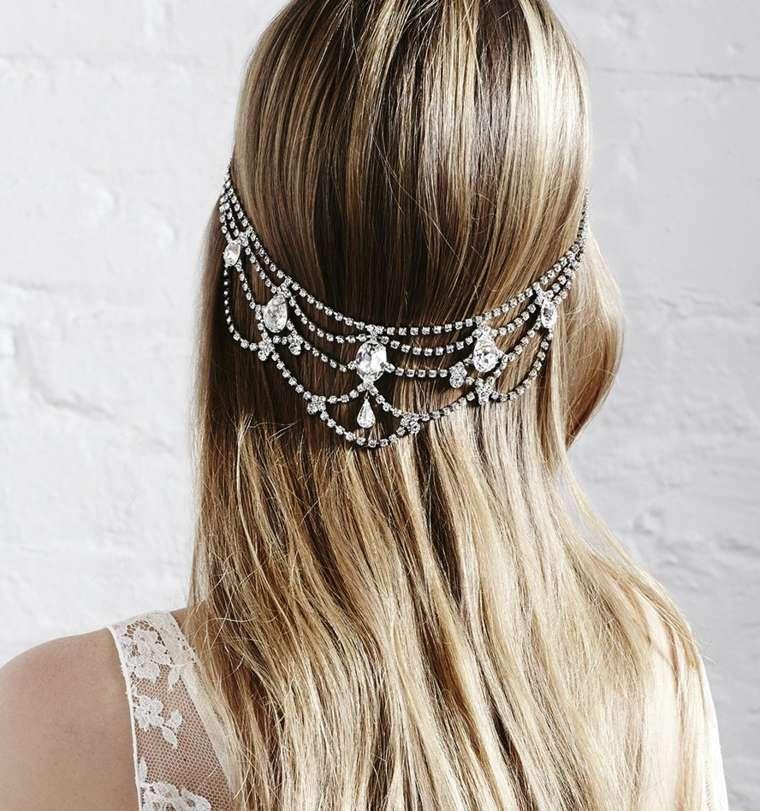 peinados boda joyas elegantes estilo tiara jennifer behr ideas