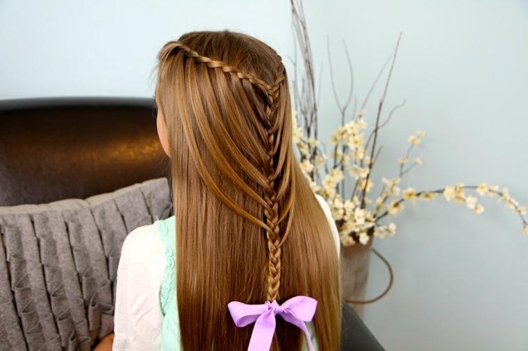 peinados con trencitas chicas