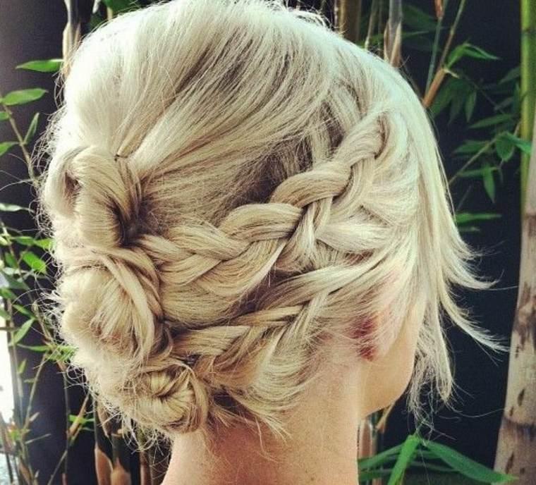 peinados con trenzas