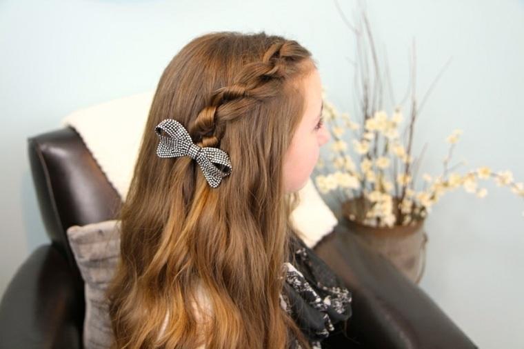 peinados con trenzas fáciles chicas