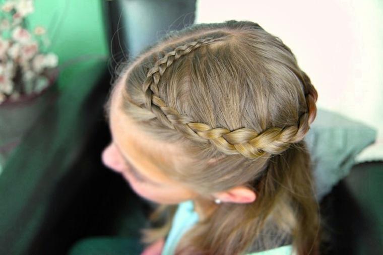 peinados con trenzas fáciles