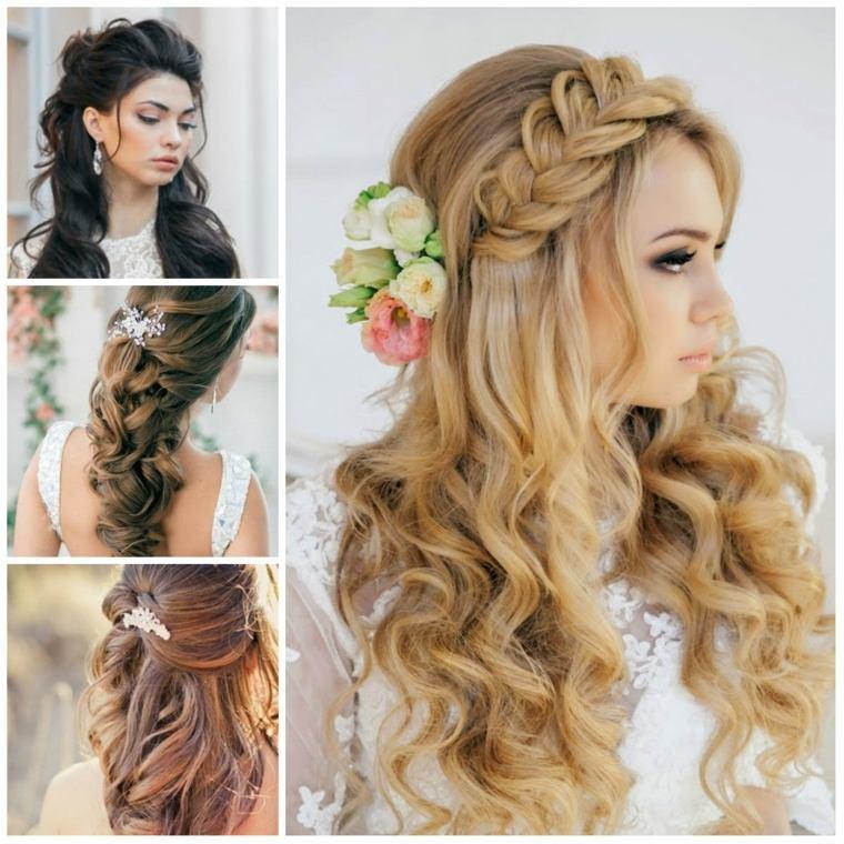 peinados de boda chicas