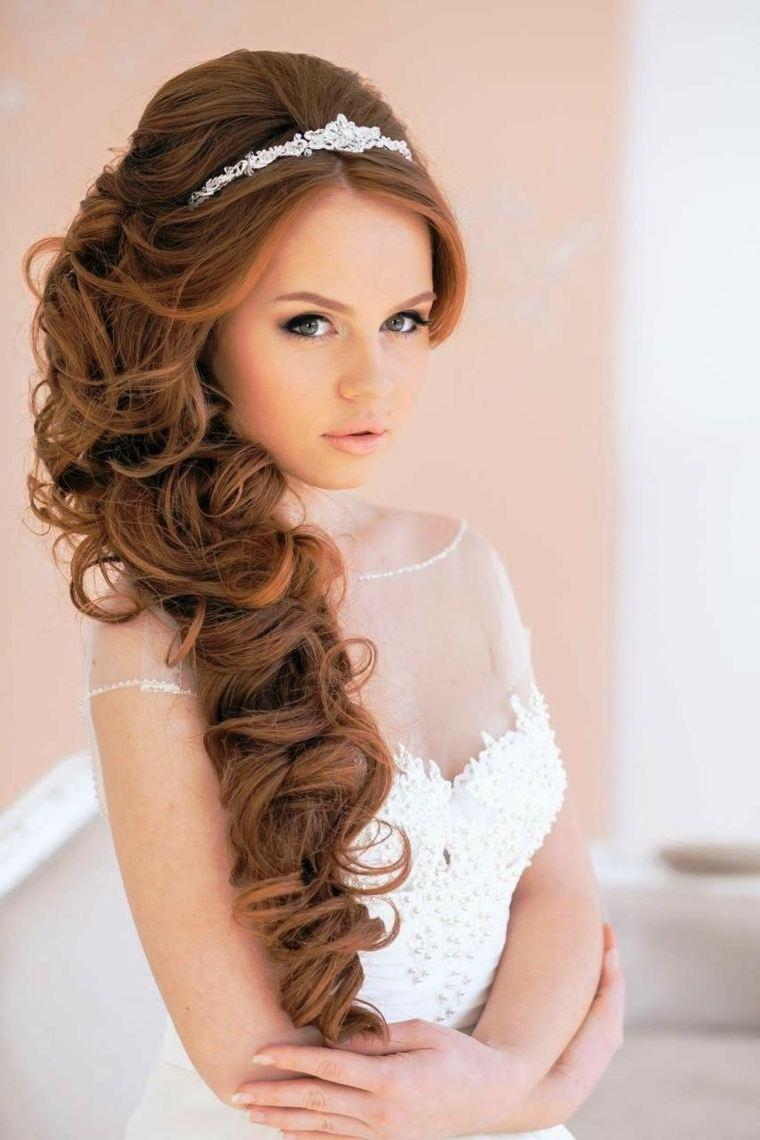 Peinados de boda llenos de modernidad y elegancia - Peinados elegantes para una boda ...