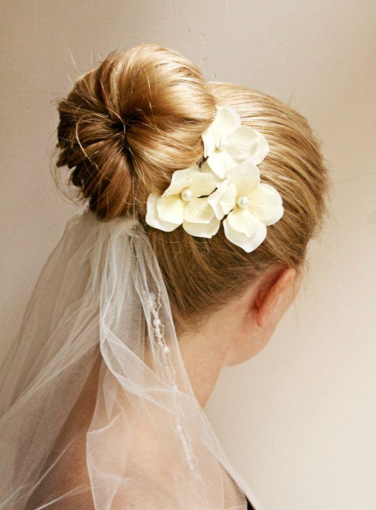 peinados de boda elegantes