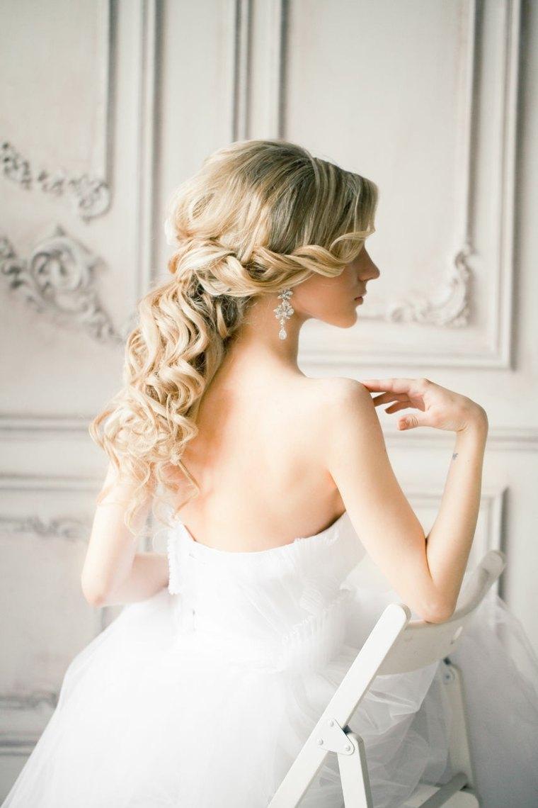 peinados de boda modernos elegantes