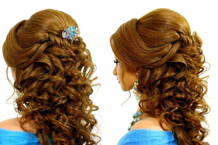 peinados de boda modernos mujeres