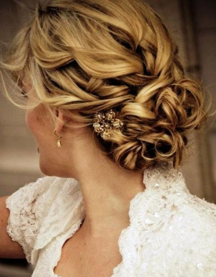 peinados de boda mujer