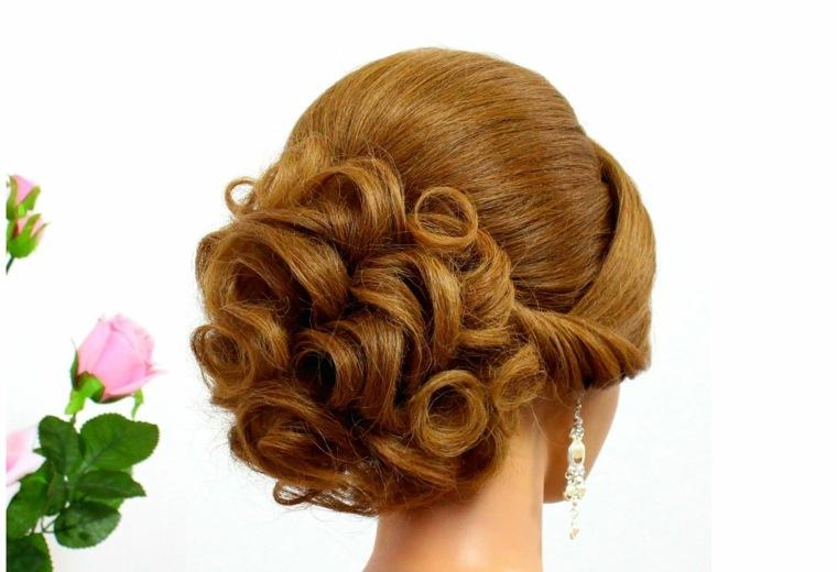 peinados de boda originales