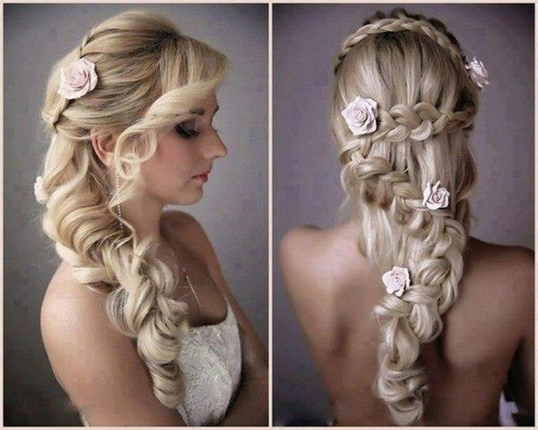 peinados de trenzas bodas