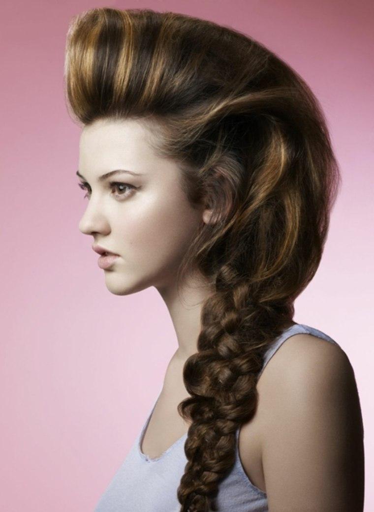 peinados de trenzas chicas