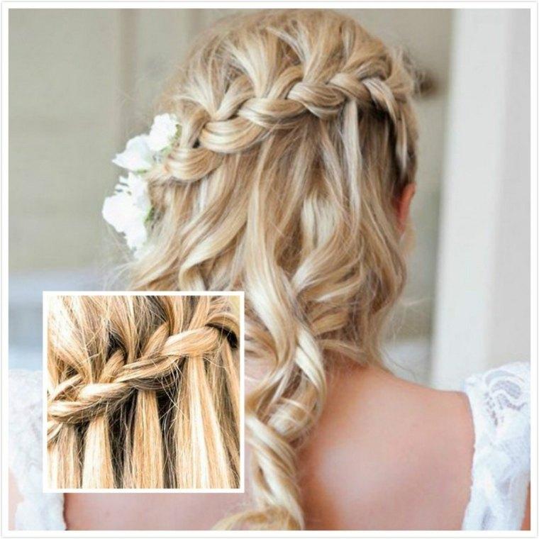 peinados de trenzas modernos bodas